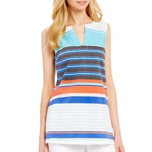 TOMMY BAHAMA | Kleus Stripe Tunic Size Small